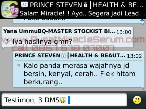 3 days miracle serum testimoni