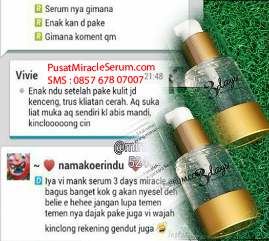 Serum miracle 3 dms