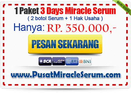 Harga Serum Wajah 3 Days Miracle Serum