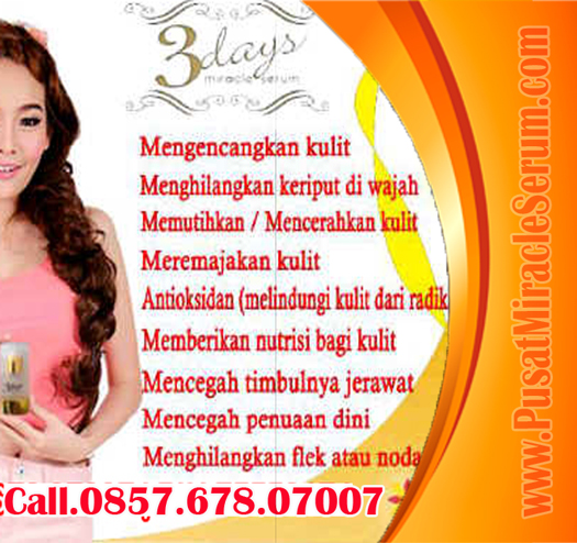 Beli Serum 3 Days Miracle,