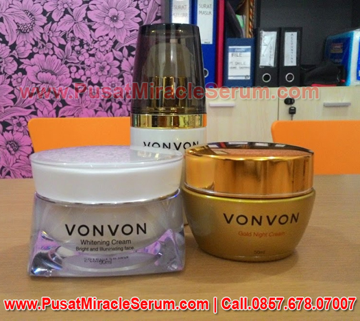 Harga vonvon 24k gold cream, von von gold cream