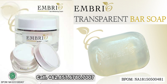 Jual Embrio Transparent Bar Soap Harga Murah Sabun Embrio