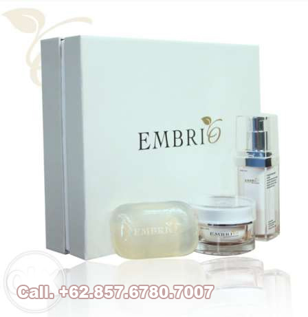 Jual embrio skin care serum whitening-dan sabun transparan embrio
