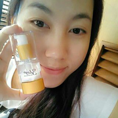 testimoni serum 3 days miracle lightening