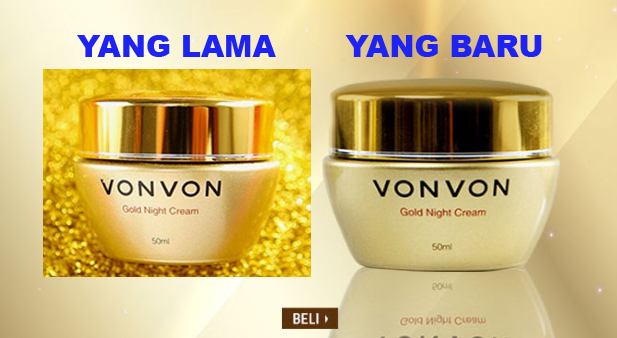 vonvon gold night cream lejel home shopping