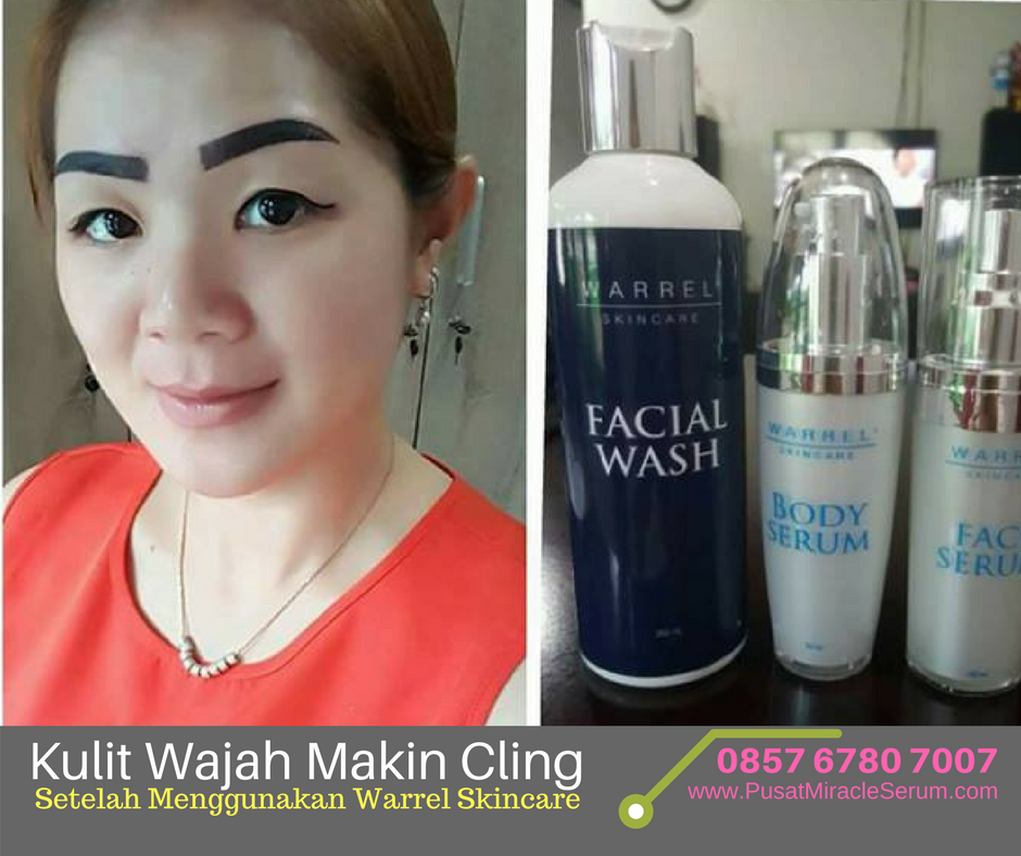 Testimoni Warrel Skincare Face Serum