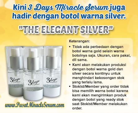 3 Days Miracle Serum The Elegant Silver