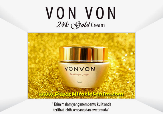 Vonvon 24k Gold Cream Asli